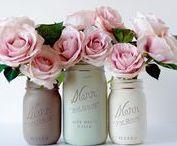 mason jar diy / Mason Jar DIY | Mason Jar crafts | Jar DIY | Chalk paint DIY | Painted jars | DIY crafts