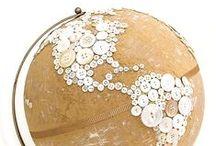 crafty: buttons / I love buttons. / by Ann Dreyer Designs
