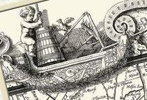 #maps, mapart, artmaps / Mooi en goed kaartmateriaal of werk dat geïnspireerd is op #kaarten, #plattegronden, #routekaarten.  Nice and good maps, art with a map or art inspired #maps #mapart #roadmap #map. Please tell me when and why you like this maps.