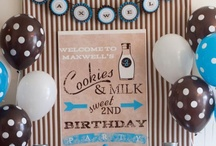 Milk & Cookies Party / by Banner Events