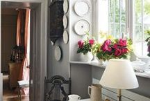 Dream Home / These are rooms that speak home to me--romantic, stylish, pretty, floral, sensuous, comfortable, inviting,  whimsical rooms that I could just move into.