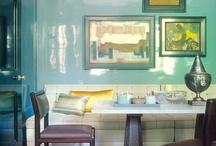 Color: Turquoise-Aqua Rooms I Love / by Lindajane Keefer