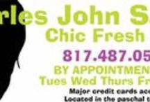 Charles John Salon / Cozy little Salon in Fort Worth TX located by TCU and Paschal