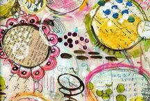 crafty: draw paint watercolor art journal / tutorials, ideas, inspiration for making art / by Ann Dreyer Designs