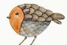 crafty: birds in art / I love birds. / by Ann Dreyer Designs