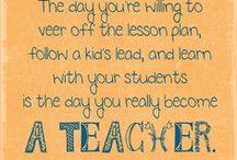 My Love for Teaching / by Ellen Minzel