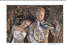 Trash the dress / Luego de la boda y del viaje de novios pueden hacer una sesión de fotos muy divertida para volver a utilizar su vestimenta y hacer de ella lo que quieran