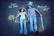 Save the date / Ideas originales para invitaciones de bodas