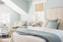 home: bedroom decor / by Ann Dreyer Designs