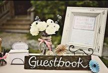 Libro de firmas / Guestbook / Ideas para juntar las firmas de recuerdo de tus invitados