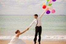 Beach weddings / Ideas para todas las parejas que deciden casarse en la playa, frente al mar y con los pies en la arena.