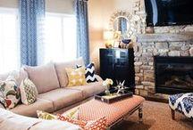 :Living Room Ideas / by carlie docekal