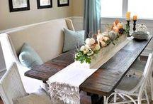 :Dining Room Ideas / by carlie docekal