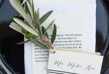 Wedding Paper Products and Design / by Casey Vasta