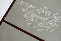 Ever After... {stationary + signage + paper goods} / by Casey Vasta