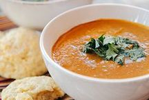 """Food - Soup / """"Food is our common ground, a universal experience."""" –James Beard"""