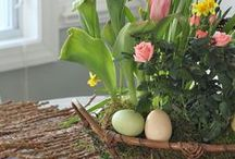 Spring Decor / Everything DIY & Spring! lauren | chattycrafting.com