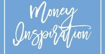 Money Inspiration / All the inspiration you need to keep you on track with your financial goals. Sometimes you can get confused by what your money goals are, or you feel stressed because you're struggling to manage a budget, manage your money or figure out how to talk about money with your partner. Here are some great tips for money inspiration to get your financial life together.