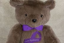 Epilepsy Awareness / Epilepsy is a condition that affects many people and yet is very lacking in awareness. TG Bears does their bit to help raise awareness with teddy bears that carry important messages and support various foundations. #Epilepsy #SUDEP #EpilepsyAwareness #Seizures