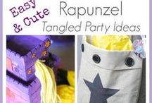 tangled party / Rapunzel party