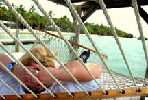 bluwaterlife~hammock inspector / The idea of rest and restore ~ or room to breathe ~ which we all need. Add in a book, a nap, a glass of iced tea & cure what ails 'ya. Sometimes a hammock is all you need to get right again with the world.
