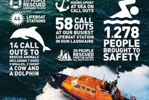 About Us | Facts & figures / The RNLI is the charity that saves lives at sea. We provide, on call, a 24-hour lifeboat search and rescue service around the UK and Ireland, and a seasonal lifeguard service. With our lifeboats, lifeguards, safety advice and flood rescue, we are committed to saving lives.
