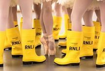 Yellow wellies / A board dedicated to our iconic yellow wellies