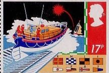 RNLI stamps