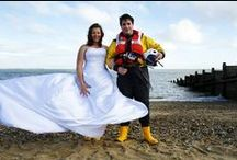 Love on a lifeboat | RNLI weddings / Many of our staff and volunteers met their partners on the lifeboat - here, we share some of their stories.