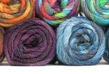 Featured Yarn / Every week, we feature a new yarn on our Facebook page and on our website. Find these yarns for sale at Over the Rainbow Yarn.