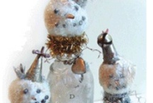 Wintry / in celebration of our snow day! (no, we're not rushing the season) / by Interweave