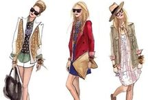 fashion sketches / Let's make some dresses! / by Kim Singleton