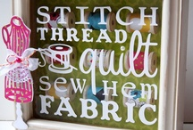 Sew:  A Needle Pulling Thread