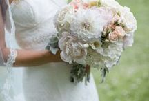 Soft Colored Bouquets For The Wedding