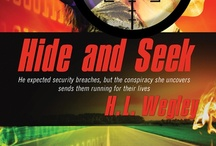 1. Hide and Seek Book, Pure Genius Series / Book 1, Pure Genius Series: An espionage thriller with a dose of romance. Coming Feb 1, 2013 from Harbourlight Books, Pelican Book Group #hideandseek  When a corporate computing system is outsourced to an offshore firm, he expected security breaches. But the conspiracy she discovers sends them running for their lives and wondering if there's enough trust between them to find a way to survive.