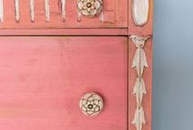 PAINTED FURNITURE / by Betty Ransom