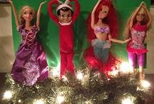 Holiday-Elf on a shelf / by Nathalie Potvin