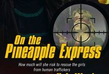 2. On the Pineapple Express, Pure Genius Series / On Kindle now. Other formats release Feb 28, 2014 Book 2, Pure Genius Series - Somewhere in the vast 3,600 square miles of the rugged Olympic Peninsula, human traffickers hold girls to sell to international clients. Brilliant, NSA researcher Jennifer Akihara intercepts a mysterious cell call and hears the desperate cries of a girl calling for help. With a deadly storm & international criminals bearing down on them while the clock ticks toward the sale of the girls, can Jennifer & Lee save them?