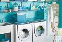 Home-Laundry Rooms / by Nathalie Potvin