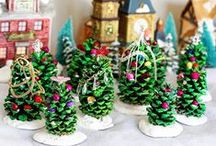 Christmas Time Is Here / Christmas crafts, gifts, and cooking ideas.