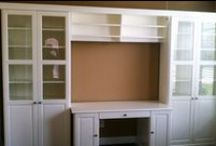 Bookcases and Built-In Desks / by Annette @ This Simple Home