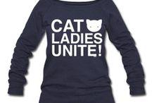 cat ladies, unite  / by Kim Singleton