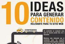 Infografías MARKETING DE CONTENIDOS