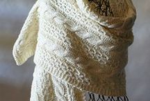 crochet, knit,  shawls ,wraps & poncho's / crochet & knit / by Michelle VanAlstyne