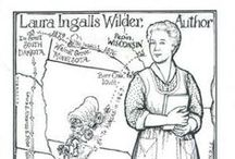 Little House Resources, Maps, Timelines, and Sites / #LittleHouse books, websites, and blogs for fans of #LauraIngallsWilder's books.