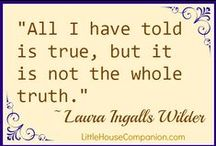Little House Companion / Information and activities related to Laura Ingalls Wilder and the Little House books. / by Annette @ This Simple Home