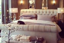 Home Decor: Bedroom / Decorations, products, and style ideas for bedrooms.