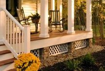Home Decor: Yard/Exterior / Decorations, products, and style ideas for the exterior parts of the home.