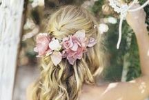 Spring Looks with Flowers / Bridal Hair & Makeup Inspiration - Using Flowers & Flower Crowns  / by Ava Belle HAIR & MAKEUP ARTSIT