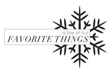 Favorite Things | Holiday / This holiday season we want to share a few of our favorite things with you. Shop our favorite things below featuring our holiday gift guide!